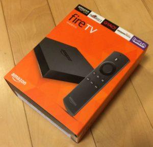 FireTVの箱
